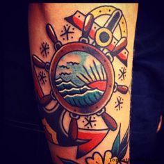 Cool Sailor Tattoo Idea