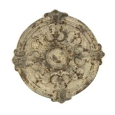 Vintage Wall Medallion Plaque - Shabby Old World Magnesia Sculpture Decor Shabby Chic Kunst, Shabby Chic Mirror, Shabby Chic Fabric, Shabby Chic Pink, Shabby Chic Apartment, Shabby Chic Decor Living Room, Shabby Chic Interiors, Shabby Chic Homes, Bohemian Apartment
