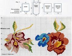 Вязаные пуловеры в розах от KENZO   Вяжем с Ланой