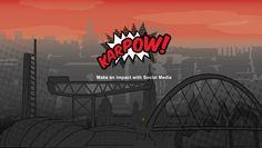 Web banner design for Glasgow based Social Media agency Karpow (www.karpow.uk).