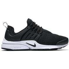 Nike W Air Presto ($120) ❤ liked on Polyvore featuring shoes, stretchy shoes, nike footwear, nike shoes, flexible shoes and lightweight shoes