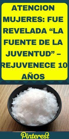 """ATENCION MUJERES: FUE REVELADA """"LA FUENTE DE LA JUVENTUD"""" – REJUVENECE 10 AÑOS APLICANDO ESTO!! #salud #atencion #mujeres #juventud #rejuvenecer #masjoven Nancy Martinez, Salud Natural, Face And Body, Aloe Vera, Body Care, Take Care Of Yourself, Medicine, Remedies, Food And Drink"""