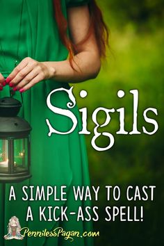 Sigils (A Simple Way to Cast a Kick-Ass Spell!) Sigils (A Simple Way to Cast a Kick-ass Spell! Wiccan Rituals, Wicca Witchcraft, Wiccan Witch, Hoodoo Spells, Abraham Hicks, Easy Spells, Spells For Beginners, Sigil Magic, Protection Spells