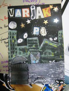 varjak paw display - Google Search Ks2 English, Classroom Displays, Classroom Ideas, Key Stage 2, New Class, Book Making, Pictures To Draw, Illustrators, Literacy