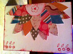 handmade card - scrapbooking