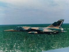 1 Sqn Mirage was taken from the back seat of a 24 Sqn Buccaneer whilst flying on a combat sortie over Angola during Ops Modular in 1987 Air Force Aircraft, Fighter Aircraft, Fighter Jets, South African Air Force, Battle Rifle, Defence Force, Air Show, War Machine, Special Forces