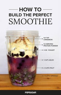 We're here to help you build the perfect (and most delicious) smoothie. Simple and healthy ingredients make for a tasty blended beverage.