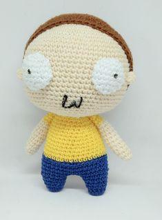 Morty amigurumi crochet