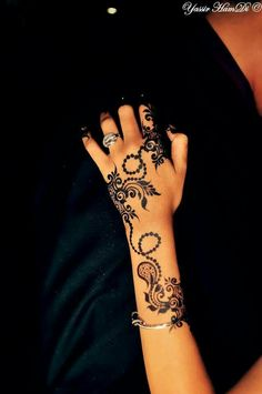 #Sudanese #bride with #henna