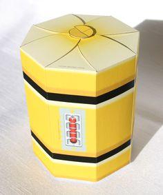 Printable Monster's Inc. scream canister gift box. $5.00