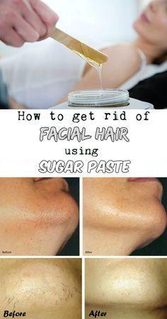How to get rid of facial hair using sugar paste - WomenIdeas.net