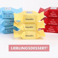 Lieblingsdessert Hoch 3! #RitterSport #Schokowürfel #Dessert
