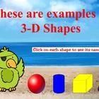 3D Shapes for ActivBoard
