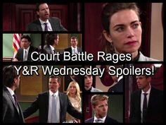 'The Young and the Restless' Spoilers: Judge Quiets Rowdy Dylan, Nick Faceoff – Travis Admits Cheating To Victoria 11-30-16