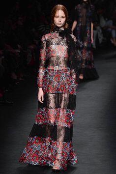Look 67 Valentino Fall 2015 Ready-to-Wear