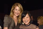 Actors Laura Dern (L) and Kelly Marie Tran of STAR WARS: THE LAST JEDI took part today in the Walt Disney Studios live action presentation at Disney's D23 EXPO 2017 in Anaheim, Calif. STAR WARS: THE LAST JEDI will be released in U.S. theaters on  December 15, 2017.
