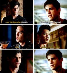 The change!!! Alec's face oh my godddd!!!!