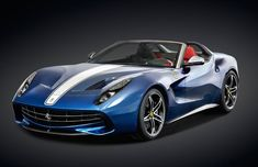 The Ferrari F60 America is a 1 of 10 special production car based upon the F12 celebrating 60 years of Ferrari in America.