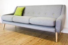 Clement midcentury-style sofa on eBay