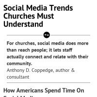 Infographic: Social Media Trends Churches Must Understand