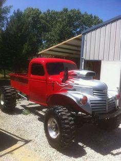I wish I could make my truck look similar!