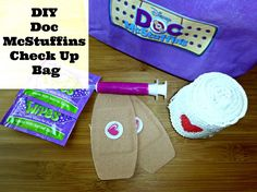 Doc McStuffins Mobile Clinic DVD   DIY Doc McStuffins Check Up Bag
