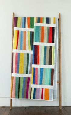 A Different Stripe quilt pattern by Denyse Schmidt
