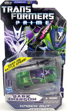 transformers prime dark energon knock out #transformer