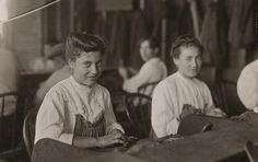 Cigar Factory Girls, Tampa, Florida  Artist: Lewis Wickes Hine  Artist Bio: American, 1874 - 1940  Creation Date: 1909  Process: gelatin silver print  Credit Line: Gift of Daniel D. Bumstead  Accession Number: 1985.037.006