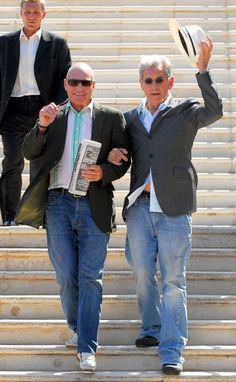 Patrick Stewart And Ian McKellen's Friendship Is Better Than Yours Elderly British bromance is the best kind of bromance. Description from pinterest.com. I searched for this on bing.com/images