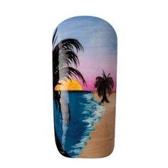 """Sunset"" Nail Art Tutorial"