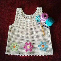 Tığ İşi Çiçek Süslemeli Kolay Bayan Süveteri / Bluz Yapımı. 36 ..38 beden