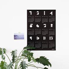 SNUG.TOYBLOCKS 2015 wallcalendar available in 3 diff. colours
