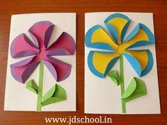 Kids idea to makr greeting card ~ JD SCHOOL
