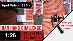 Hang Challenge, Training 3 of 9 Hanging Bar, Challenges, Train, Exercise, Excercise, Ejercicio, Exercise Workouts, Physical Exercise, Sports