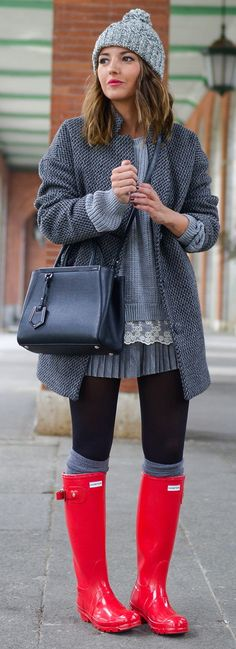 60 Ultra Trendy Winter Outfits On The Street 2016                                                                                                                                                                                 More