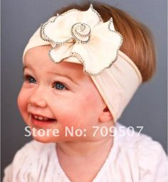 Earnest Toddler Newborn Baby Girl Lace Huge Flower Headband Hair Band Hair Accessories Hair Accessories