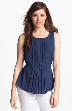 Olive & Oak Pleat Front Top available at #Nordstrom