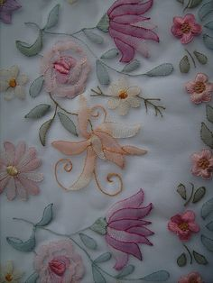 A close-up of the Shadow Work Embroidey