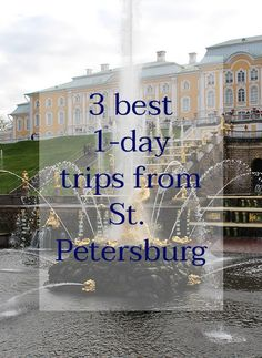 St. Petersburg is so much more than cathedrals and museums. Do not spend all the time in the city, go outside! Here are 3 towns with amazing palaces to visit   Day trips from St Peterburg, Russia