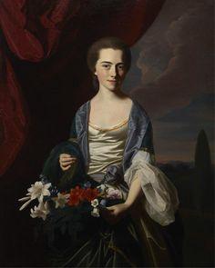 Sarah Sherburne Langdon, 1767 John Singleton Copley @Dallas Museum of Art  #ArtEverywhereUS