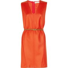 Stella McCartney Edna wool-twill dress