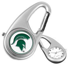 Michigan State Spartans Carabiner Watch