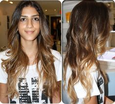2014 Spring Celebrity Hair Color Ideas: Medium Brown  dark brown light brown and Light Ash Brown sombre hair colors