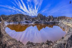 """Larestan Salt Dome"", Fars Province, IRAN (Persian: فارس، لارستان، گنبدهای نمکی) Photo by: Mehdi Abrari"