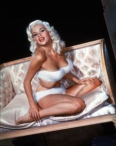 """Jayne Mansfield starred in """"Hangover"""" 1962"""" Alfred Hitchcock Hour"""