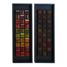Colorful Square Panels | Metal Art | Wall Decor | Metal Decor | Wall Art | Artwork | Pictures Frames and More | Winnipeg | Manitoba | MB | Canada