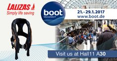 BOOT 2017 Show has finally arrived! Visit our booth and let us inform you about the latest product releases! Get the excitement! See you all at Hall 11 Boot Düsseldorf Boots 2017, Simply Life, Let It Be