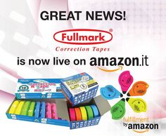 Fullmark tapes are officially on Amazon.it! Get yours today! Grazie! http://bit.do/fullmarkIT