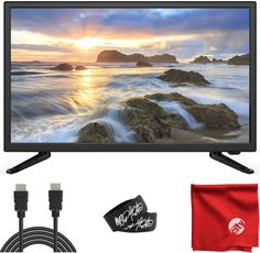 Nice Rank Number <strong>5. Sansui 24-Inch 720p HD LED Smart TV (S24P28DN)</strong> - Click link below to review this product. Best Small Tv, Circuit City, Smart Tv Samsung, Dolby Audio, Tv Built In, Hdmi Cables, Cool Electronics, Cool Technology, Digital Trends